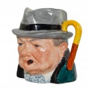 Winston Churchill Small Character Jug 2