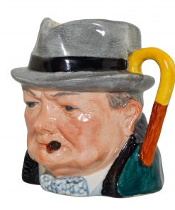 Winston Churchill Small Character Jug
