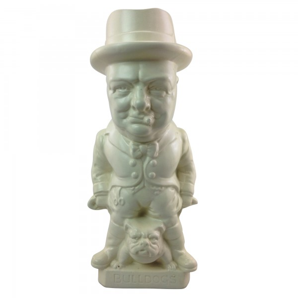 John Bull Churchill Large Toby Jug (All White)