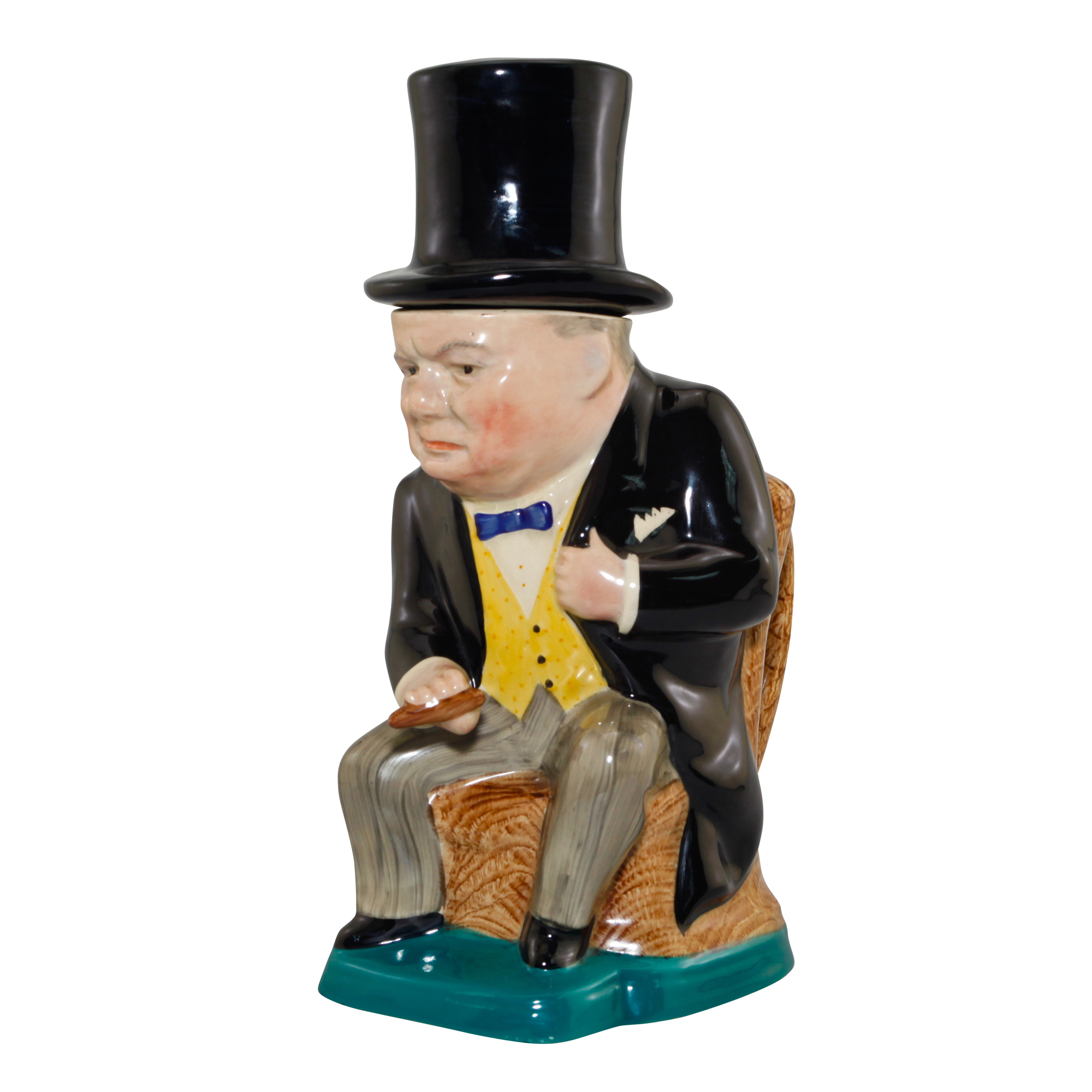 Winston Churchill Lidded Toby Jug