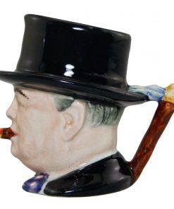Winston Churchill Miniature Character Jug