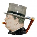 "Winston Churchill Small Character Jug ""Man of the Year"" 3"