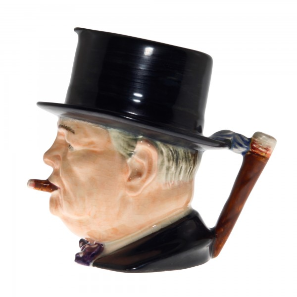 "Winston Churchill Large Character Jug ""Man of the Year"""