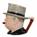 "Winston Churchill Small Character Jug ""Man of the Year"" 3"