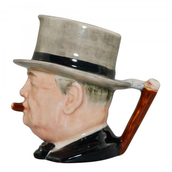 "Winston Churchill Small Character Jug ""Man of the Year"""