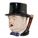 "Winston Churchill Small Character Jug ""Man of the Year"" 2"