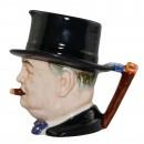 "Winston Churchill Small Character Jug ""Man of the Year"" 4"
