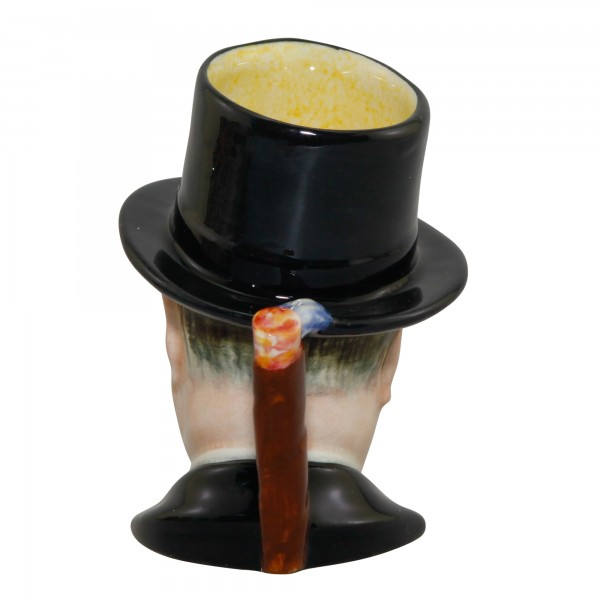 "Winston Churchill Small Character Jug ""Man of the Year"""