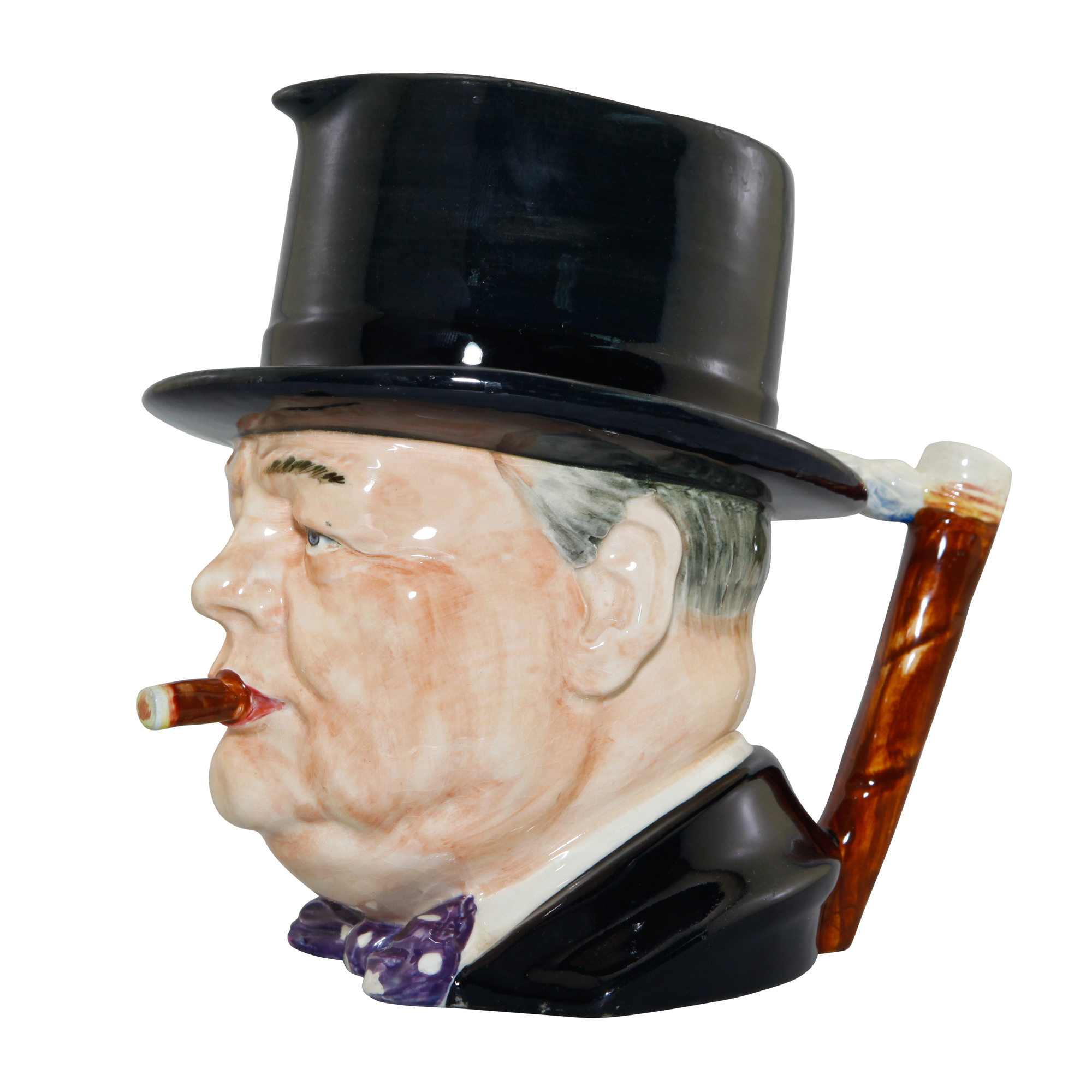 "Winston Churchill ""Man of the Year"" Character Jug"