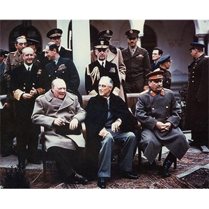 Churchill and Historical Figures