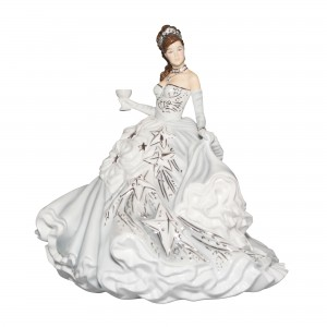 Congratulations (Silver) - English Ladies Company Figurine