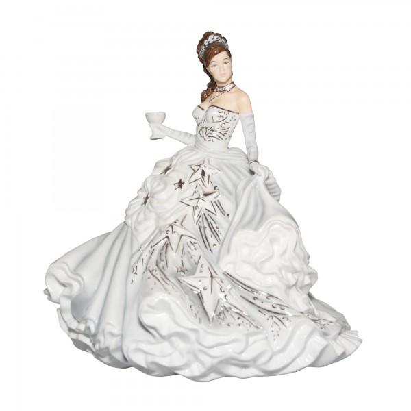 Congratulations (Silver) - English Ladies Company Figurine