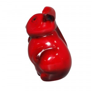 Flambe Hare Lop-Eared HN108 (Large) - Royal Doulton Animal