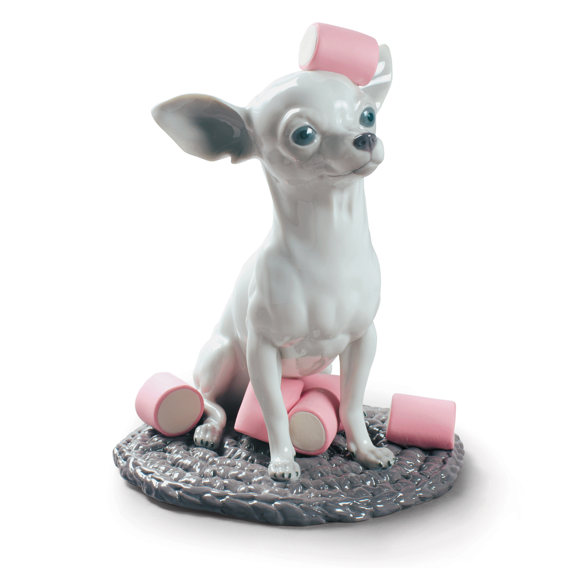 Chihuahua with Marshmallows 01009191.  Dogs and Candy Collection- Lladro