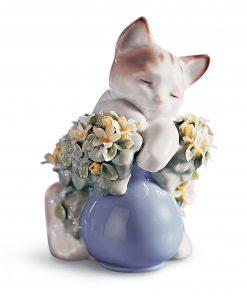 Dreamy Kitten 1006567 - Lladro