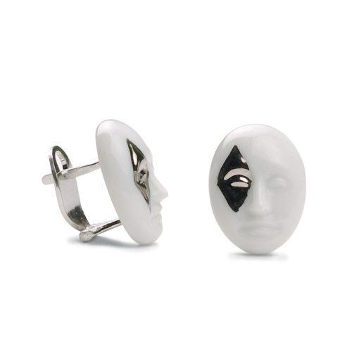 Earrings Diamond Face 1010103 - Lladro Jewelry