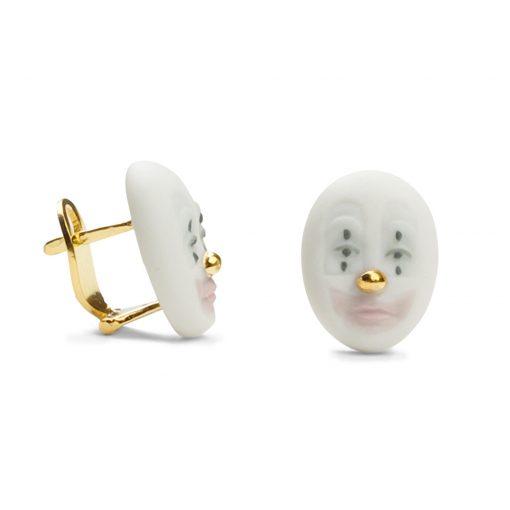 Earrings Kind Clown 1010100 - Lladro Jewelry