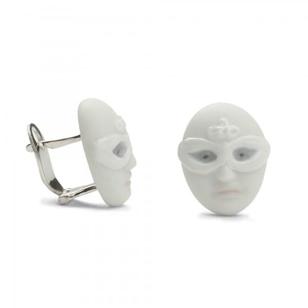 Earrings Mask Face 1010101 - Lladro Jewelry