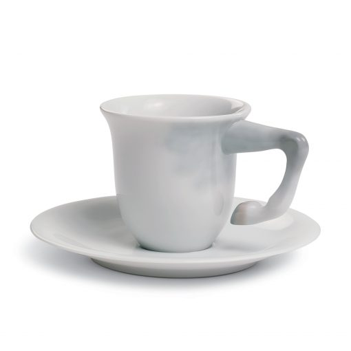 Equus Coffee Cup with Saucer 01017154 -  Lladro Equus