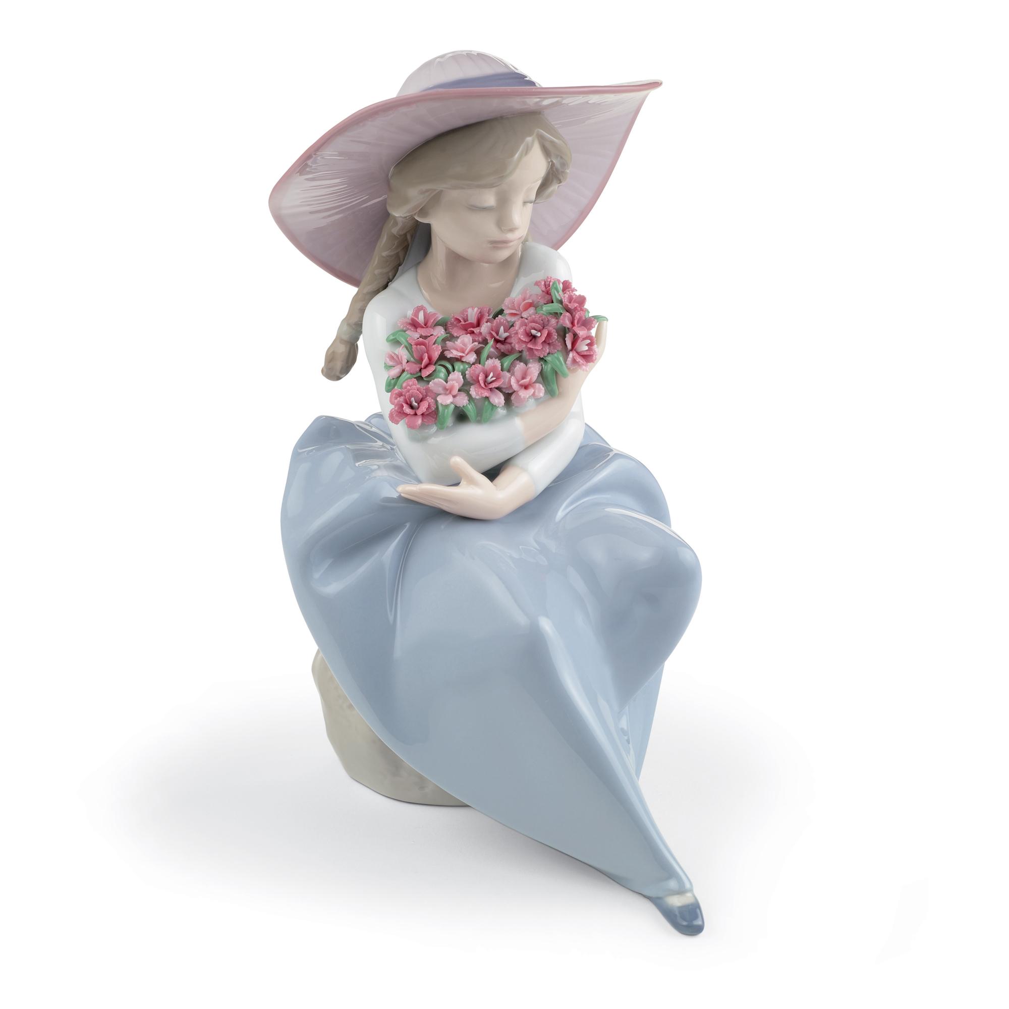 Fragrant Bouquet (Carnations) 1007215 - Lladro Children