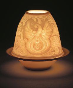 Lithophane Votive Light - Father Frost 1017363 -  Lladro Lithophane