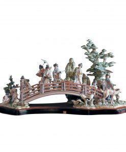 Oriental Garden 1001775 - Lladro; Ltd. edition of 750 pcs; issued 1993 by Sculptor Salvado Debon