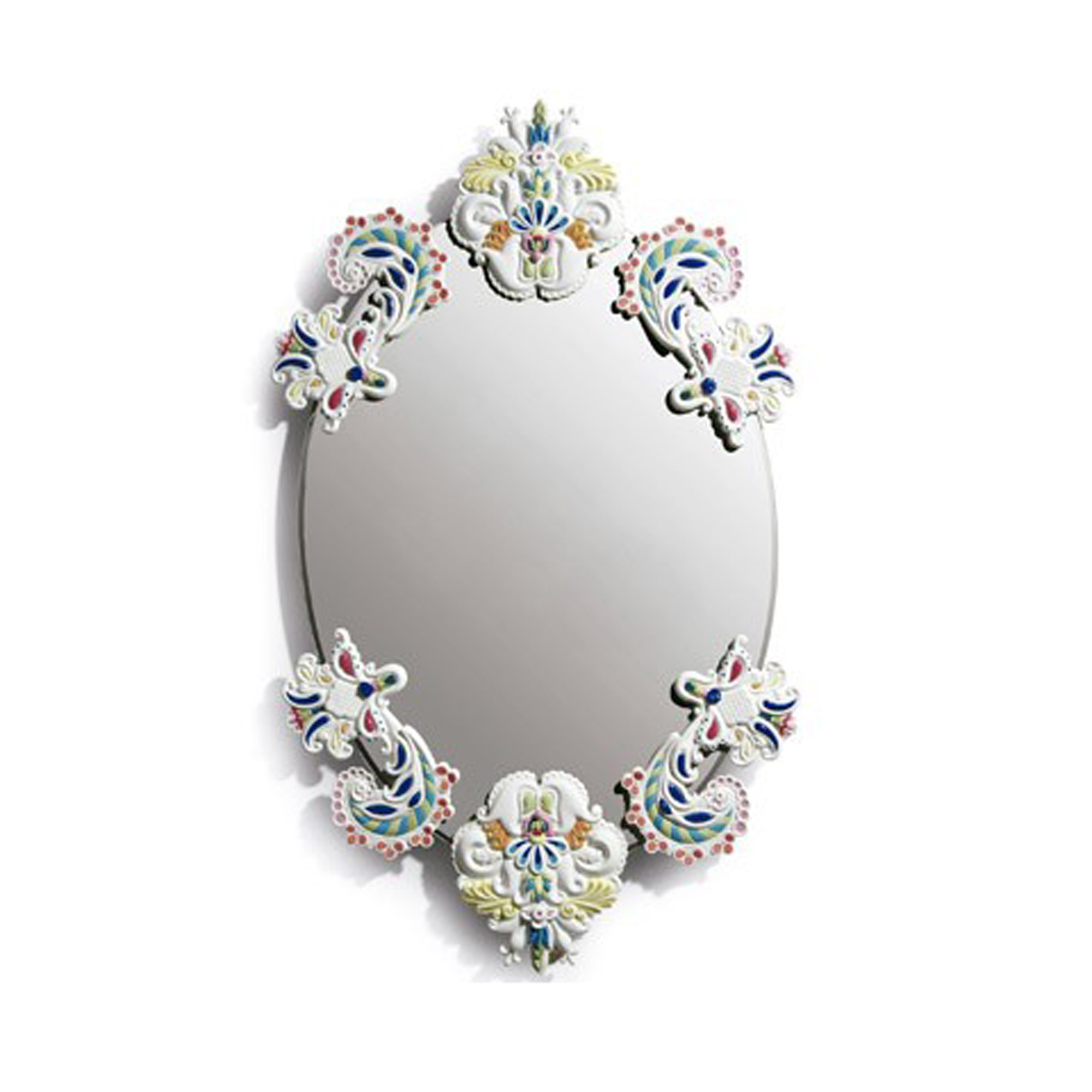 Oval Mirror without Frame (Multi-color) 01007834 - Lladro Functional Art