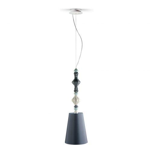 Pendant Lamp II - Black (Belle de Nuit Collection) 01023384 - Lladro Lighting