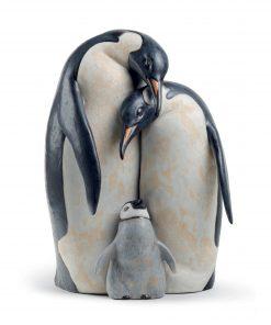 Penguin Family 01012547 - Lladro