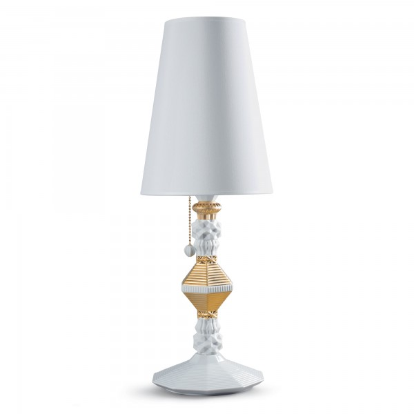 Table Lamp - Gold (Belle de Nuit Collection) 01023322- Lladro Lighting