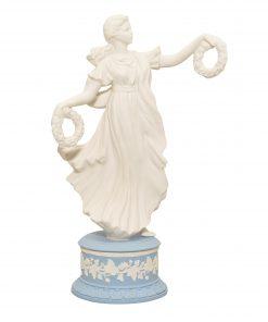 """Wedgwood Jasperware Figure """"Floral Coronel"""""""