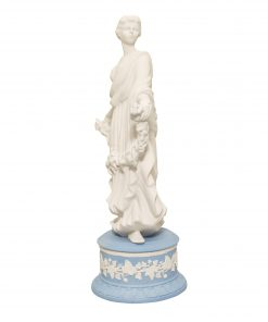 "Wedgwood Jasperware Figure ""Joy Garland"""