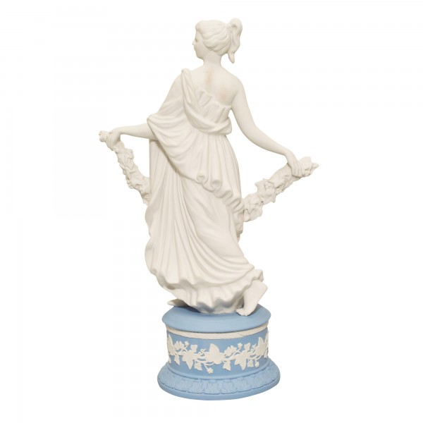 "Wedgwood Jasperware Figure ""Joy Garland"""