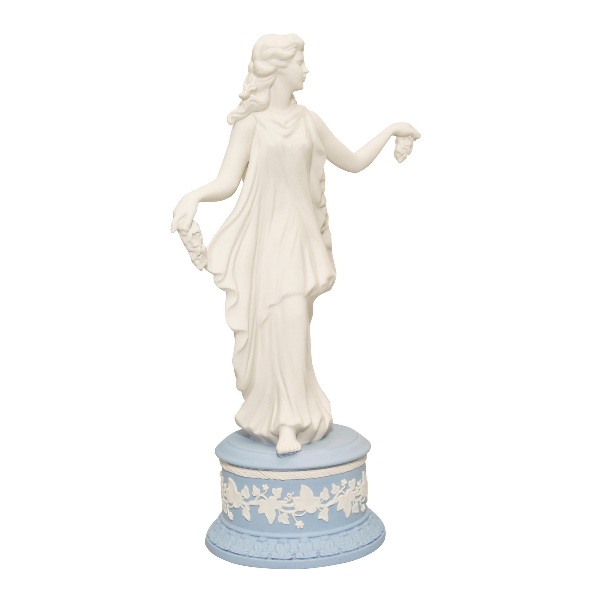 "Wedgwood Jasperware Figure ""Vine & Berry Spray"""