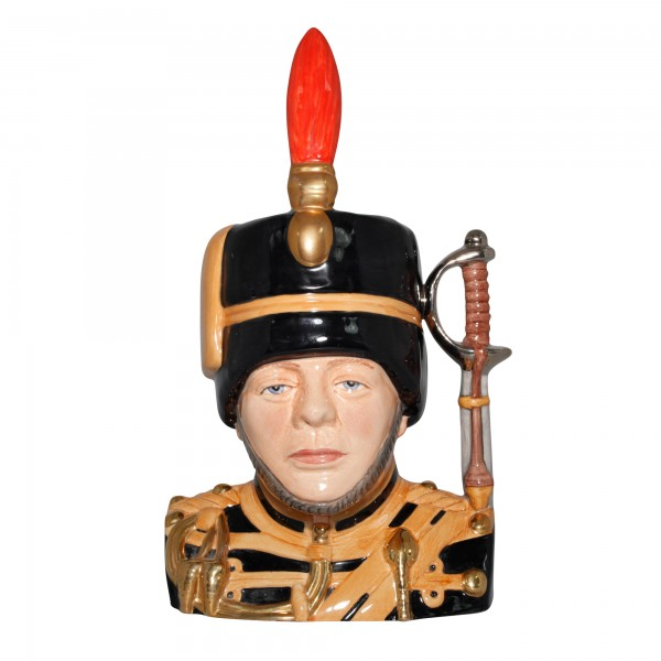 Winston Churchill, 2nd Lieutenant 4th Hussars 1895 - Large Character Jug
