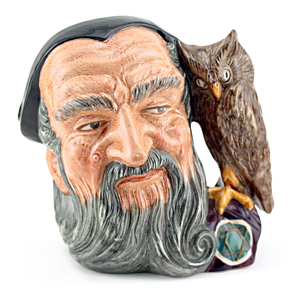 Merlin D6543 - Mini - Royal Doulton Character Jug