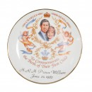 Commemorative Plate - To Commemorate the Birth of Their First Child (Charles and Diana) HRH Prince William