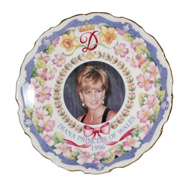 Commemorative Plate - Diana, Princess of Wales