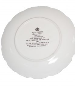 Royal Albert Commemorative Plate - To Celebrate the Marriage of The Prince of Wales and Lady Diana Spencer
