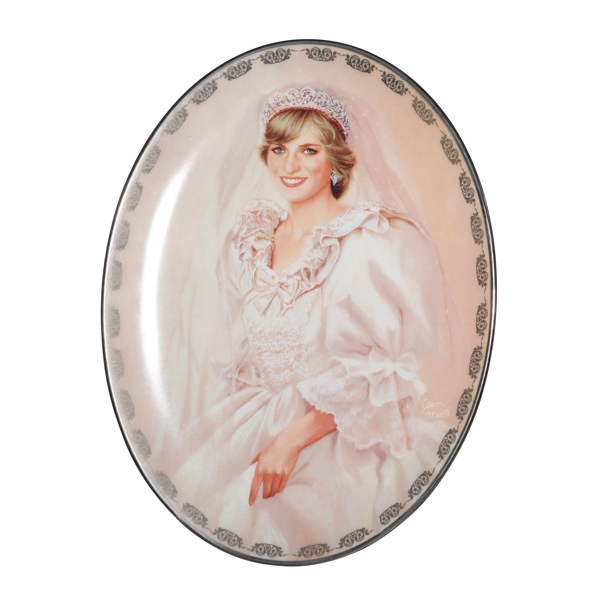 Commemorative Plate - The People's Princess by Jean Monti