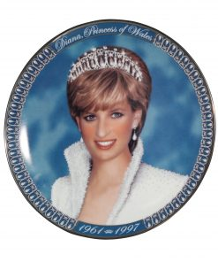 Commemorative Plate - A Tribute to Princess Diana