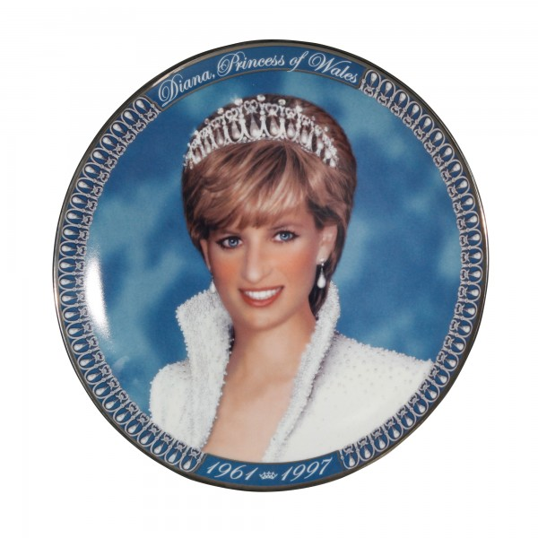 Commemorative Plate - A Tribute to Princess Diana