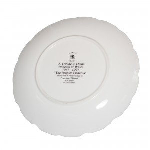 Commemorative Plate - A Tribute to Diana Princess of Wales 1961 - 1997