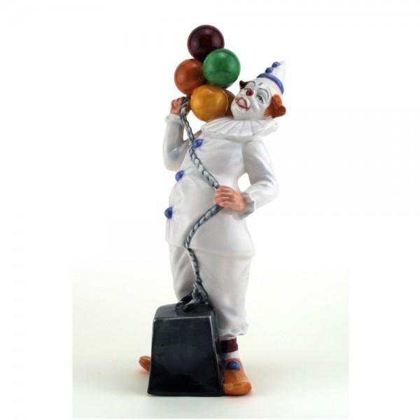 Balloon Clown HN2894 - Royal Doulton Figurine