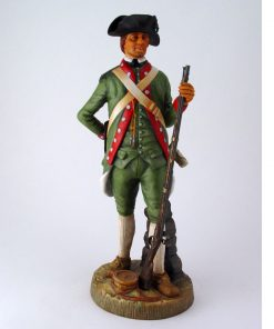 Corporal, 1st New Hampshire Regiment, 1778 HN2780 - Royal Doulton Figurine