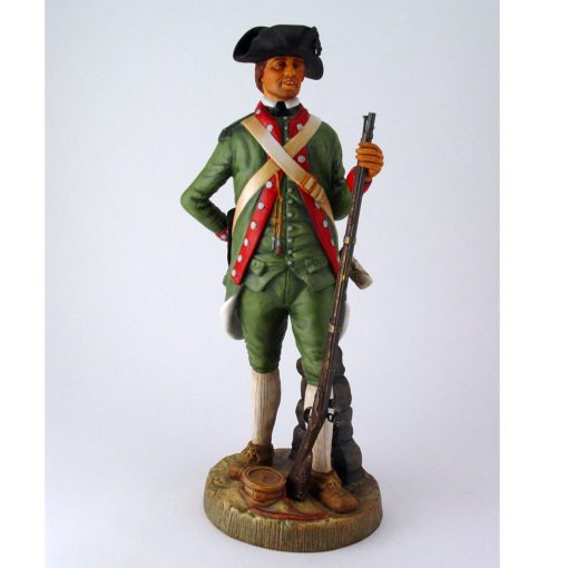 Corporal, 1st New Hampshire Regiment, 1778 HN2780 - Royal Doulton Figurine