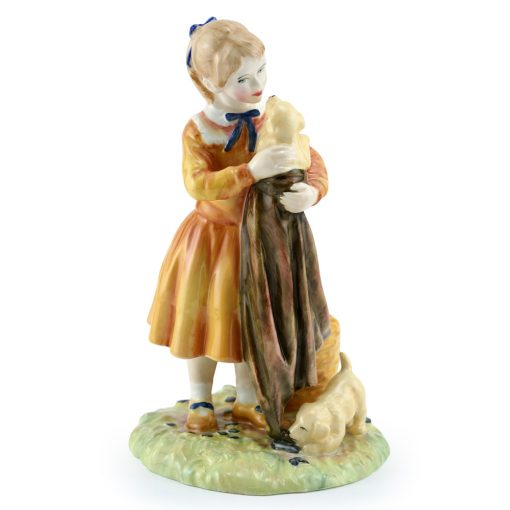 Puppy Love HN3371 - Royal Doulton Figurine