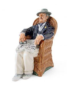 Taking Things Easy HN2677 - Royal Doulton Figurine