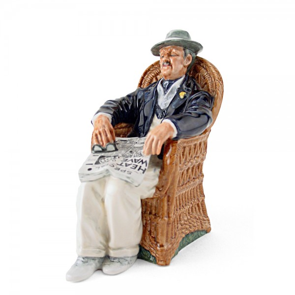 Taking Things Easy HN2677 - Royal Doulton Figurine