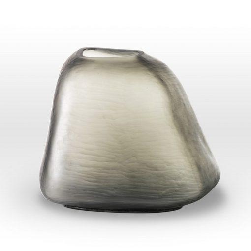 Green Gray Vase BR0111 - Viterra Art Glass